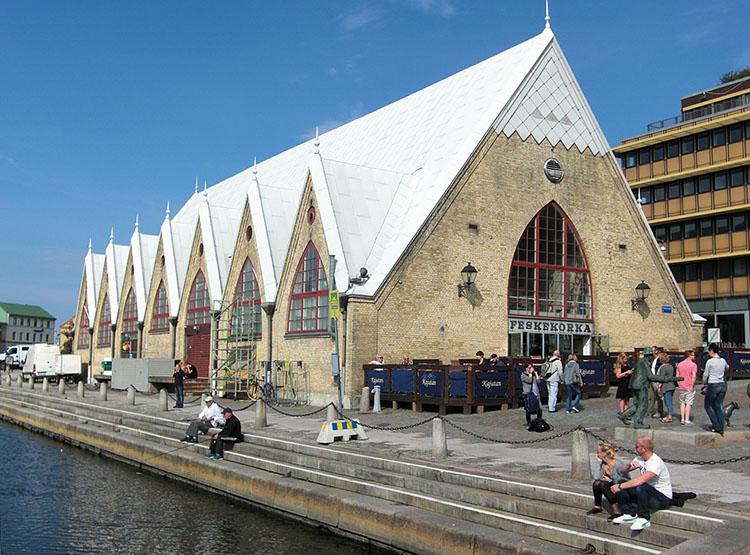 Rybny Kościół Goteborg ciekawostki miasto atrakcje Szwecja