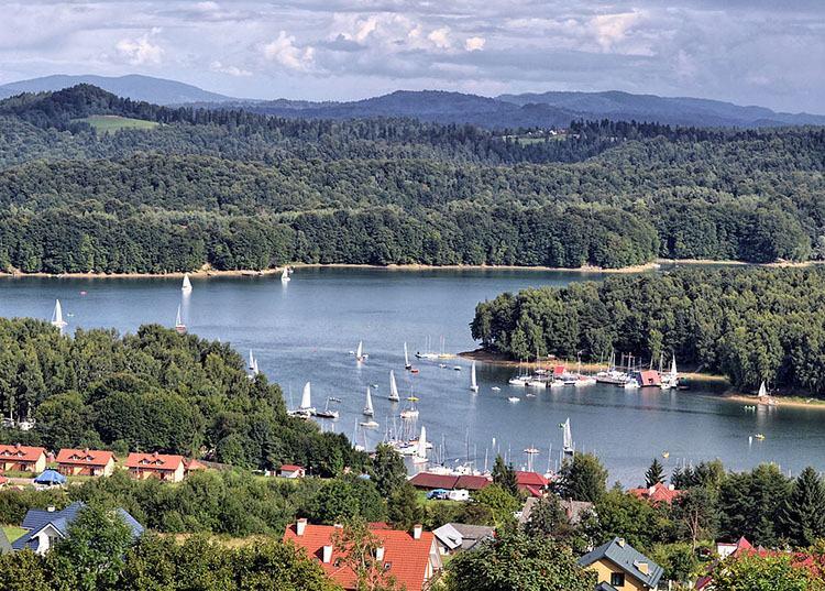 Solina zapora Jezioro Solińskie Bieszczady ciekawostki o Bieszczadach
