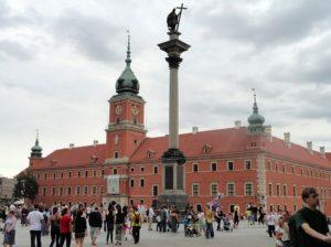 Zamek Królewski Kolumna Zygmunta Warszawa ciekawostki