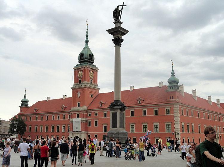 Zamek Królewski Kolumna Zygmunta Warszawa ciekawostki Welcome to Poland