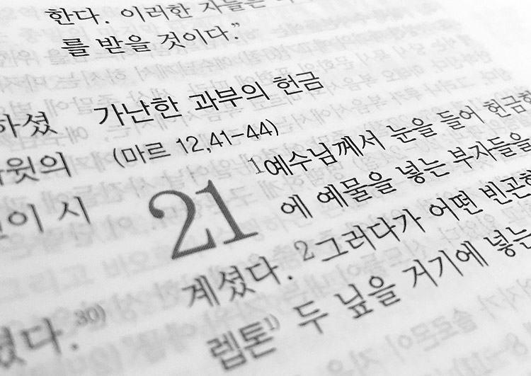 Biblia język chiński języki ciekawostki językowe o językach