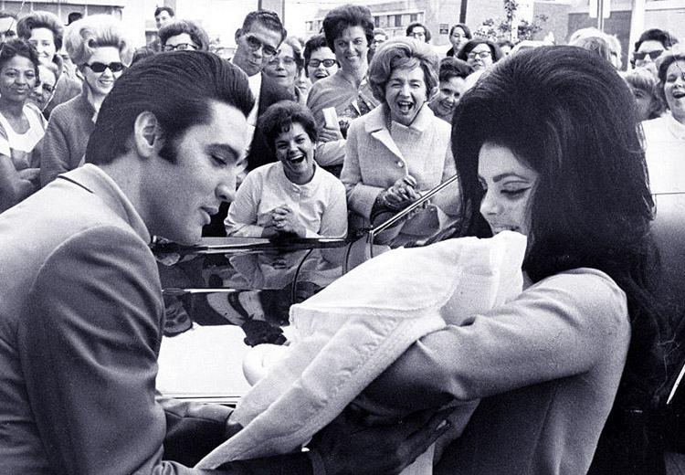 ciekawostki Elvis Presley Priscilla Lisa Marie luty 1968