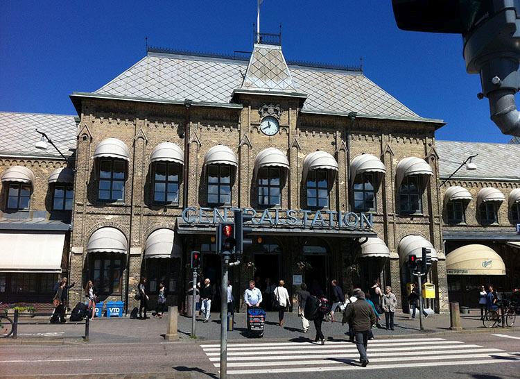 dworzec kolejowy Goteborg ciekawostki miasto atrakcje Szwecja