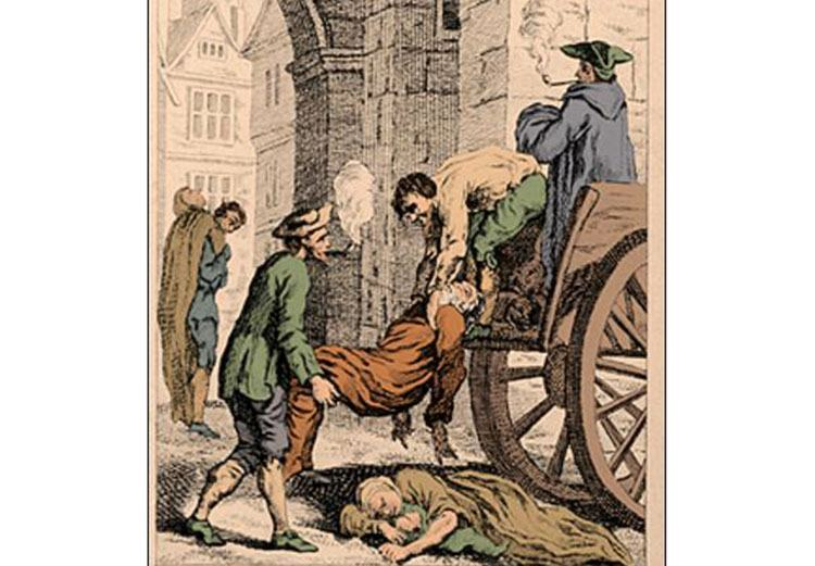 dżuma Londyn 1665  pandemia epidemia ciekawostki