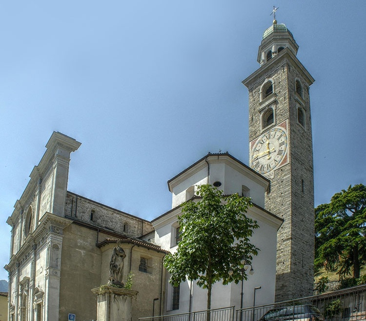 katedra San Lorenzo Lugano ciekawostki atrakcje zabytki Szwajcaria