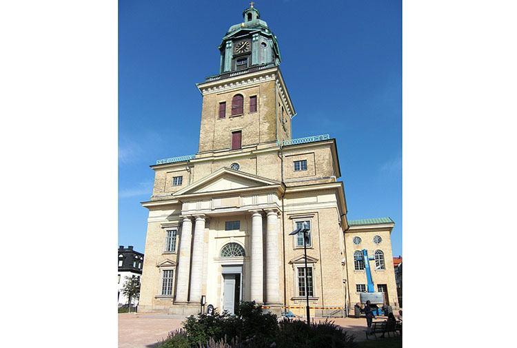 katedra domkyrka Goteborg ciekawostki miasto atrakcje Szwecja