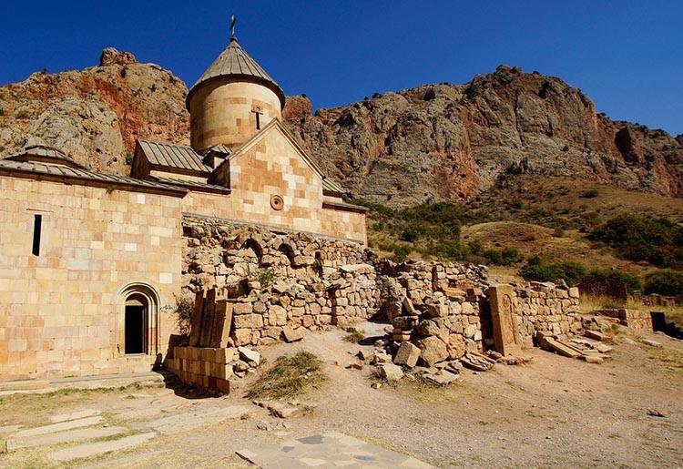 Norawank klasztor Armenia ciekawostki zabytki atrakcje historia