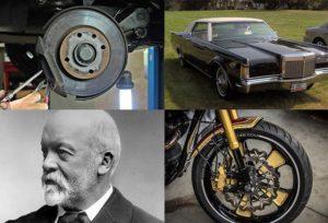 klocki hamulcowe ciekawostki historia motoryzacja samochody