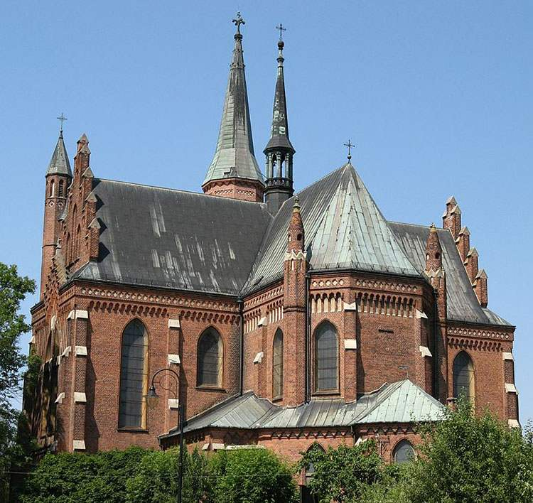 kościół Najświętszego Serca Pana Jezusa Turek ciekawostki atrakcje zabytki