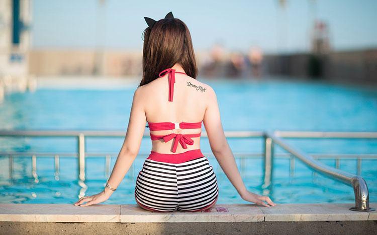 kostium kąpielowy ciekawostki kostiumy kąpielowe historia