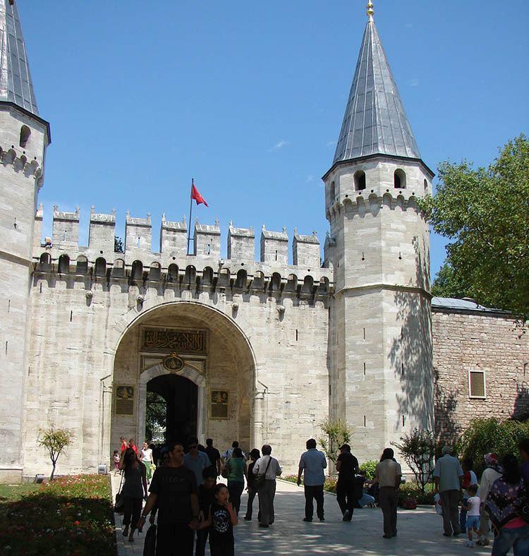 pałac Topkapi Sarayi Stambuł ciekawostki atrakcje zabytki