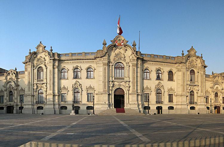 pałac rząd Peru Lima ciekawostki atrakcje Plaza de Armas