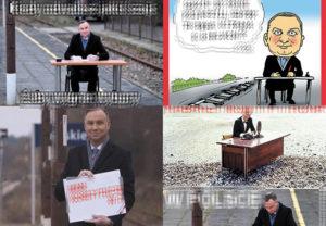 prezydent Andrzej Duda memy peron Końskie ustawa