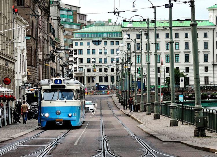 tramwaj Goteborg ciekawostki miasto atrakcje Szwecja