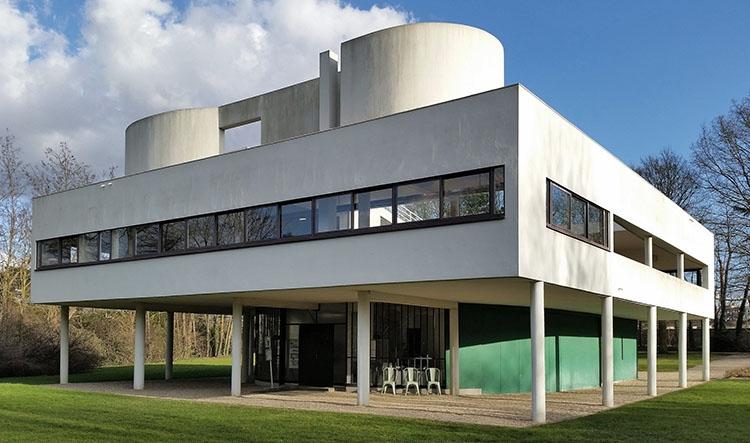 willa Savoye Poissy le Corbusier ciekawostki