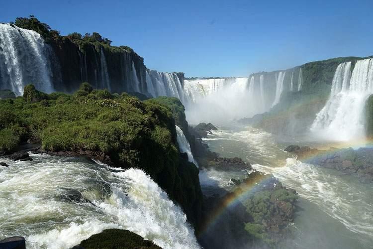 wodospady Iguazu Argentyna Brazylia