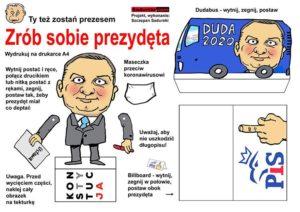 zrób sobie prezydenta Andrzej Duda prezydent