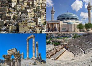 Amman miasto stolica Jordania ciekawostki atrakcje zabytki