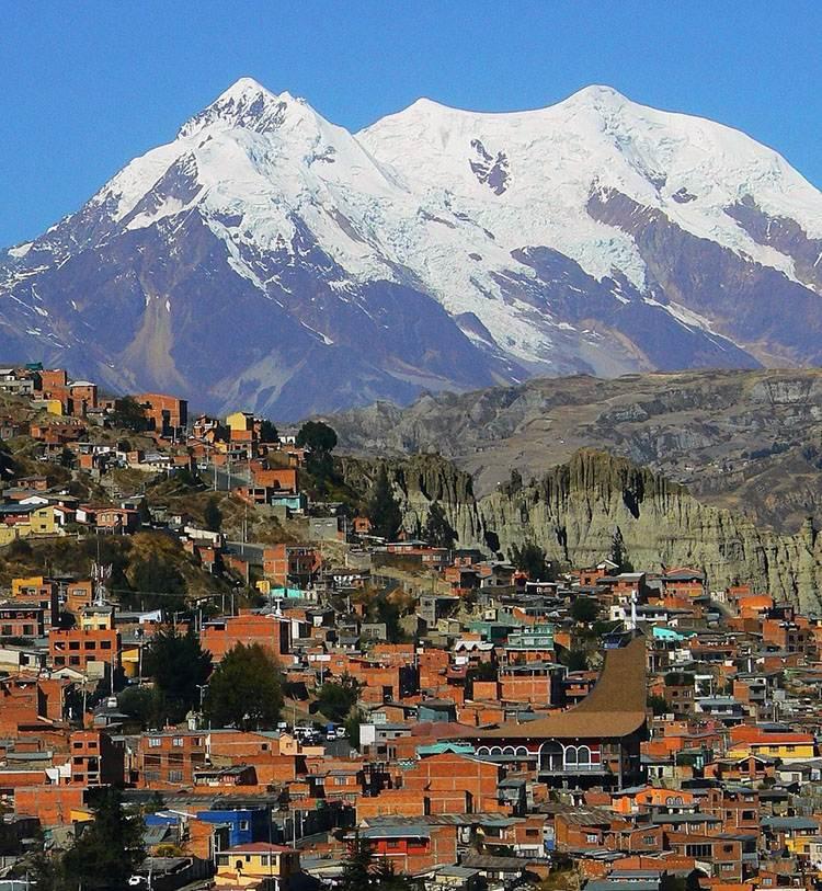 góry Andy miasto La Paz ciekawostki Boliwia atrakcje Ameryka Południowa