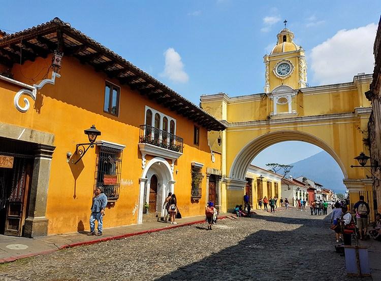 Antigua Gwatemala ciekawostki atrakcje