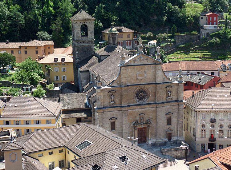 kościół Bellinzona ciekawostki Szwajcaria atrakcje zabytki