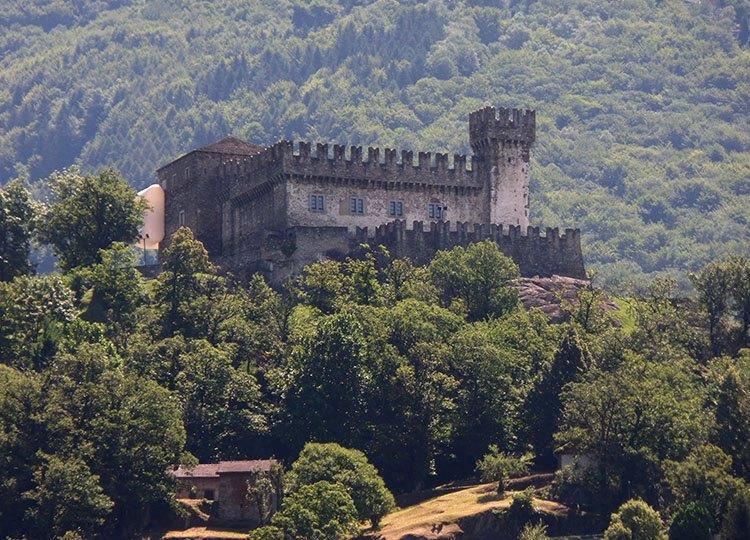 Castello di Sasso Corbaro Bellinzona ciekawostki Szwajcaria atrakcje zabytki