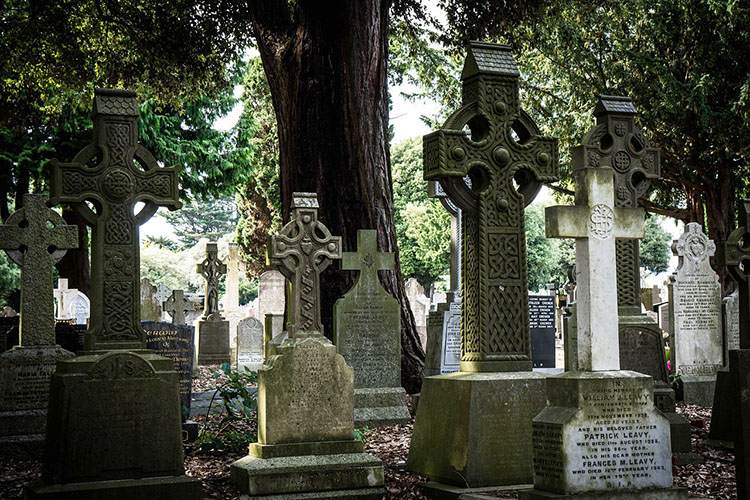 Dublin Irlandia cmentarz cmentarze ciekawostki historia nekropolie