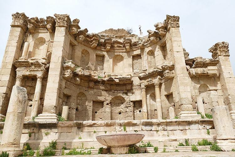 Dżerasz Jerash Jordania ciekawostki zabytki atrakcje