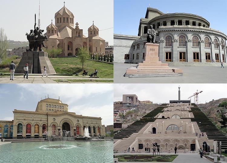Erywań ciekawostki atrakcje zabytki Armenia Yerevan