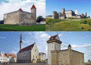 Estonia ciekawostki atrakcje zabytki zamki