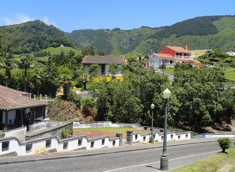 Furnas atrakcje ciekawostki Sao Miguel Azory