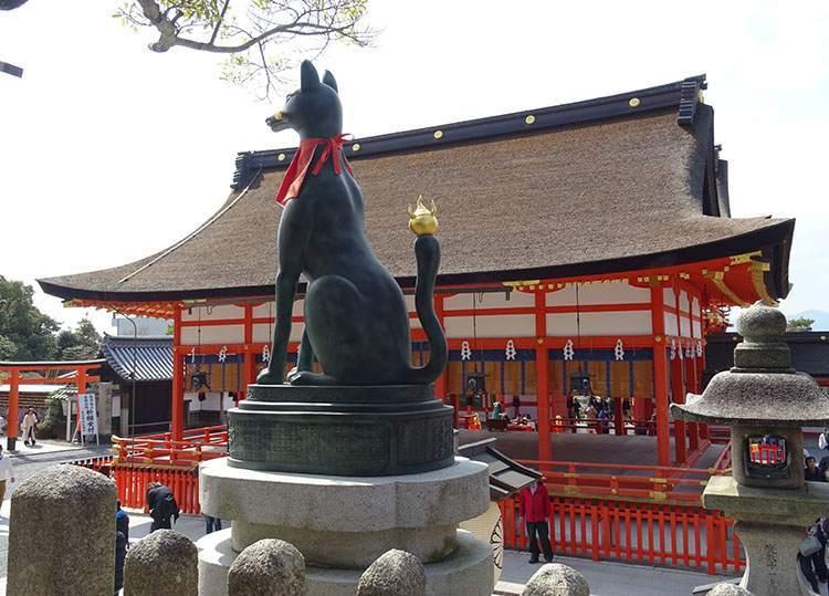Fushimi Inari Kioto ciekawostki atrakcje Japonia Kyoto