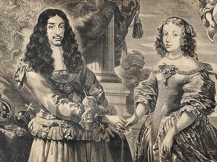 Karol II Katarzyna z Brananzy prezerwatywy historia  kondomy ciekawostki prezerwatywa antykoncepcja
