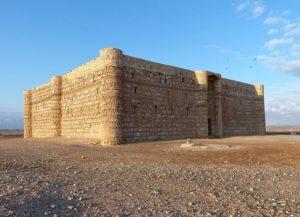 Kasr al Charana Jordania zabytki ciekawostki atrakcje zamek pustynia