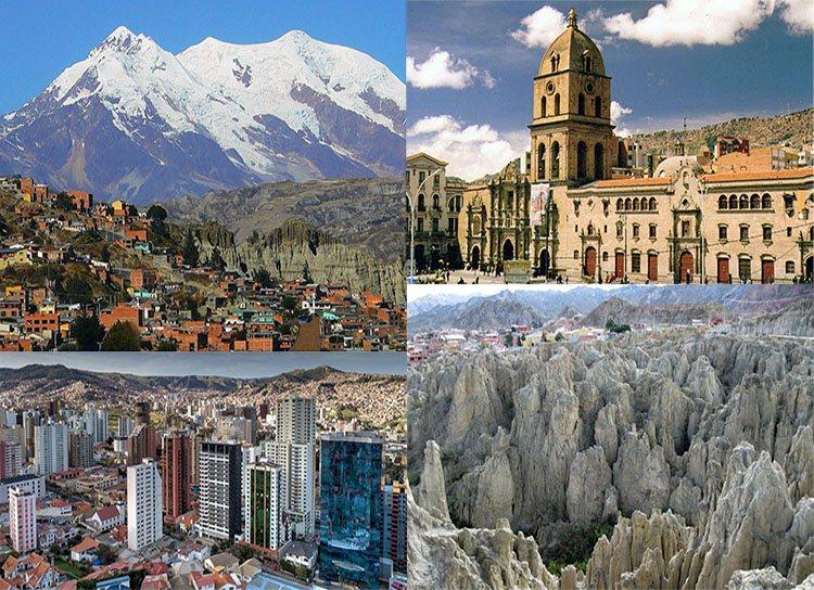 La Paz ciekawostki Boliwia atrakcje