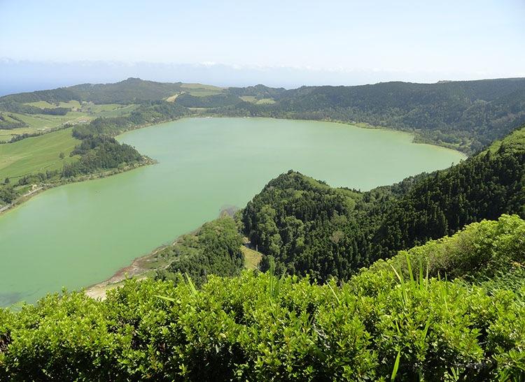 Lagoa des Furnas atrakcje ciekawostki
