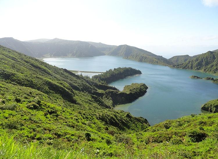 Lagoa do Fogo Sao Miguel Azory ciekawostki atrakcje