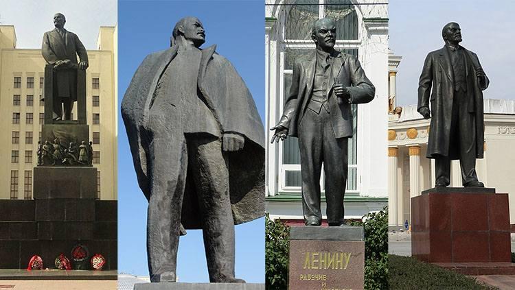 pomnik pomniki Włodzimierz Iljicz Lenin ciekawostki życiorys