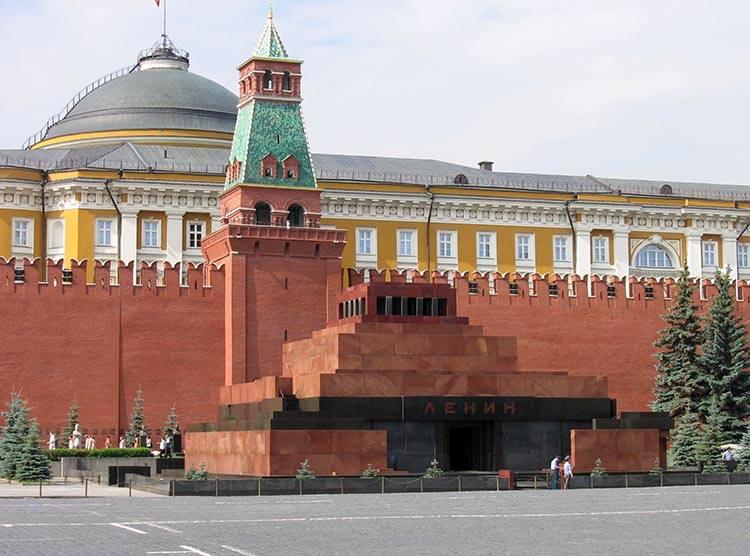 Mauzoleum Plac Czerwony Włodzimierz Iljicz Lenin ciekawostki życiorys
