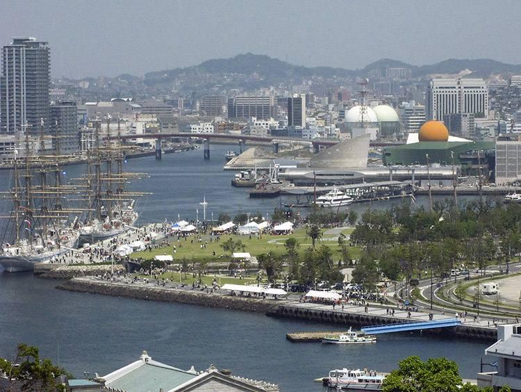 miasto Nagasaki ciekawostki miasto Japonia Kiusiu