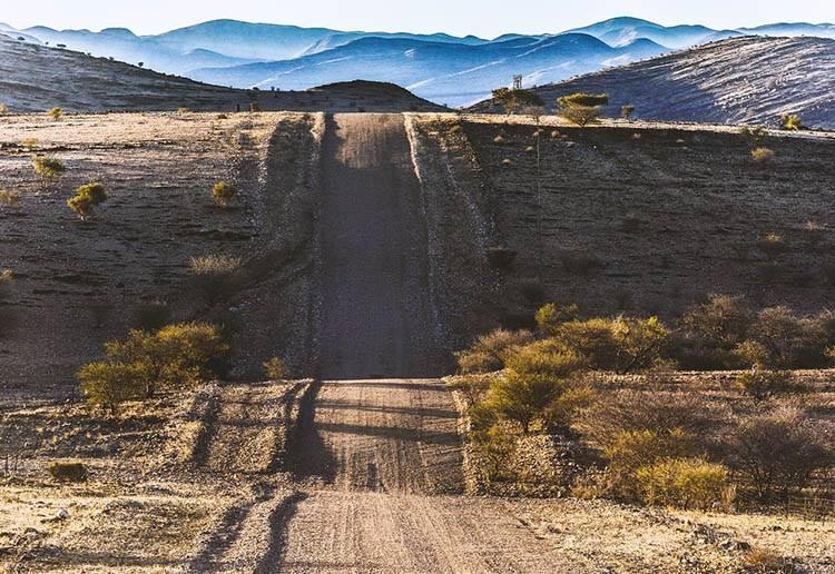 pustynia Namibia ciekawostki atrakcje Afryka