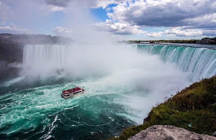 wodospad Niagara Falls Kanada ciekawostki atrakcje informacje