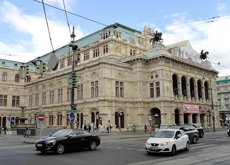 Opera Narodowa Wiedeń ciekawostki Austria zabytki atrakcje