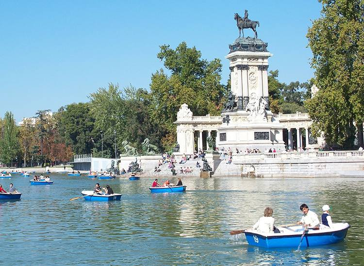 Parque del Ritro Madryt  ciekawostki atrakcje Hiszpania