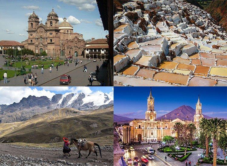 Peru ciekawostki atrakcje Ameryka Południowa zabytki góry miasto katedra