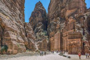 Petra ciekawostki Jordania atrakcje zabytki