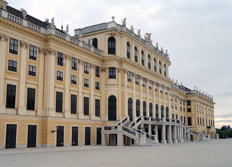 Shonbrunn Wiedeń ciekawostki Austria zabytki atrakcje