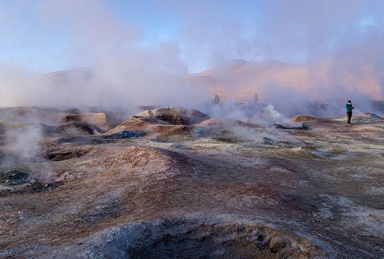 Sol de manana gejzery Boliwia ciekawostki atrakcje