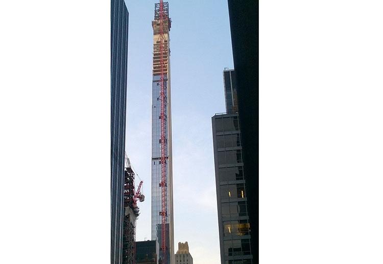 Steinway Tower najwęższe budynki świata na świecie