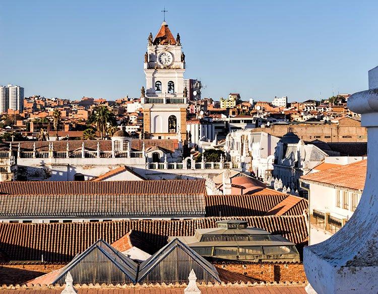 Sucre ciekawostki Boliwia atrakcje zabytki